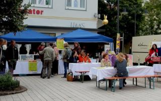 Faires Frühstück Marktplatz Balingen 2012